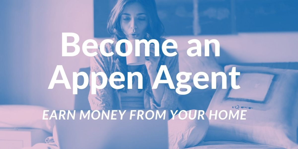 become an appen agent
