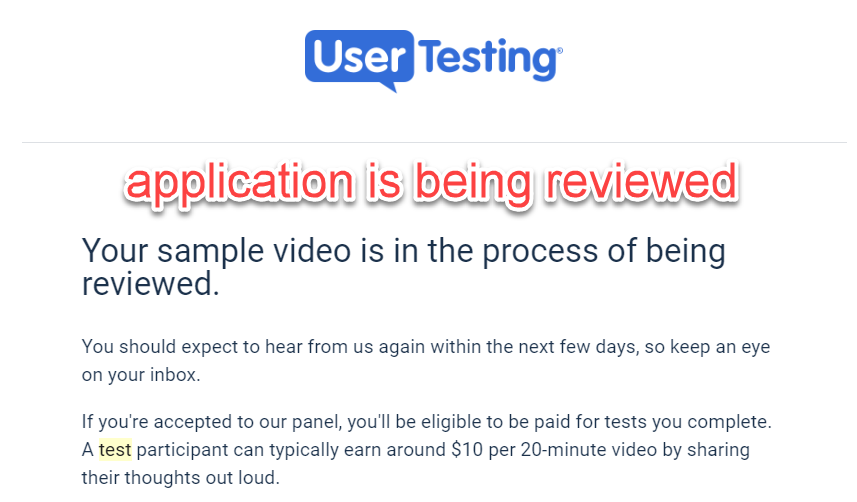 become a user tester today.