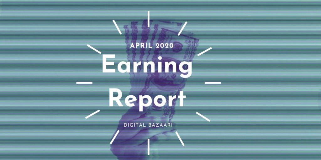 earning report april 2020