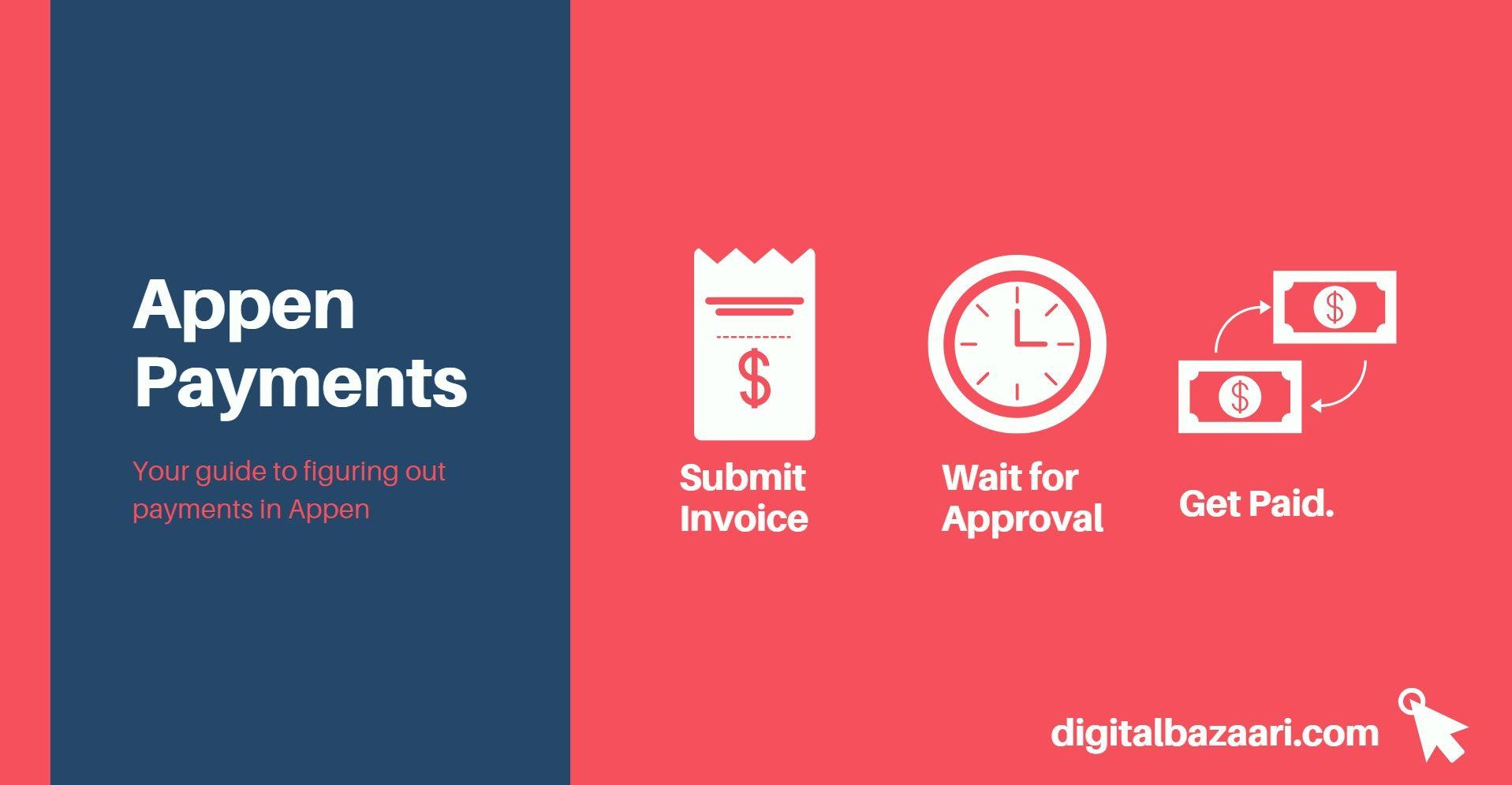 appen payments procedure