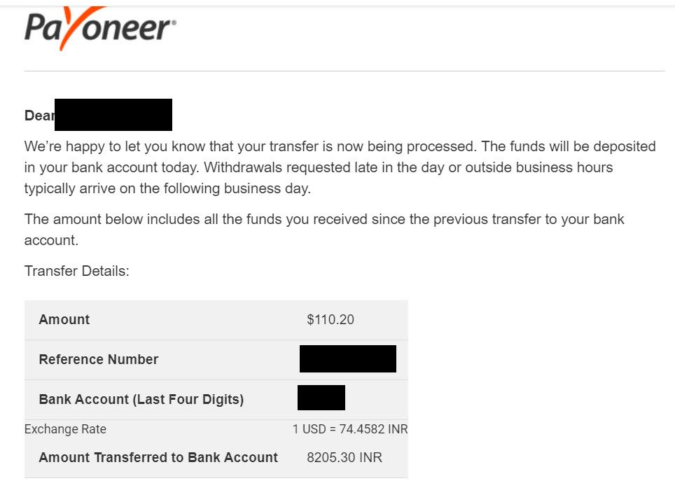 Another Appen Payment Proof