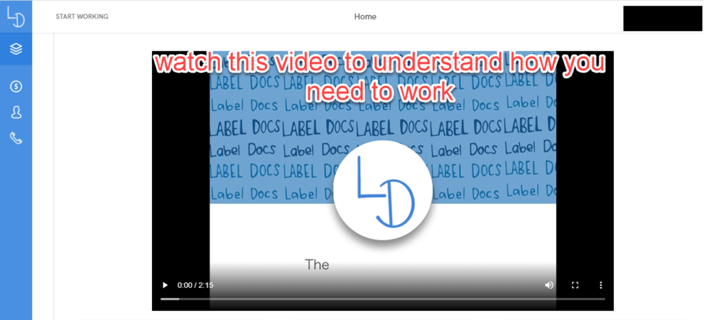 Label docs intro video