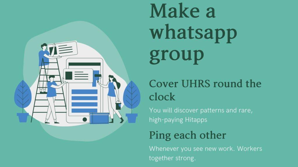 Make a whatsapp Group