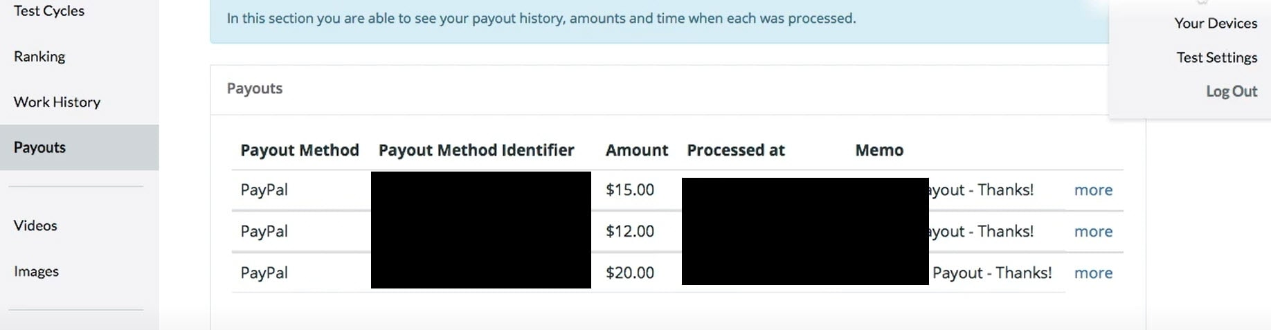 testerwork payment proof