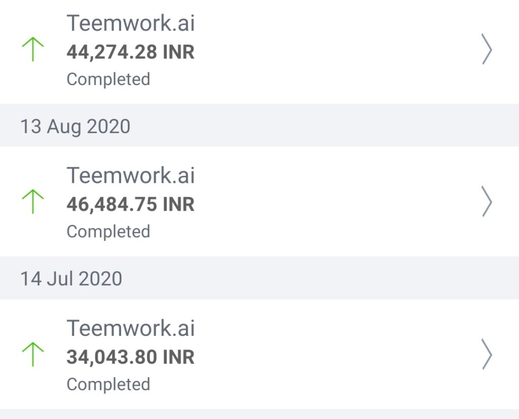 teemwork.ai payment proofs
