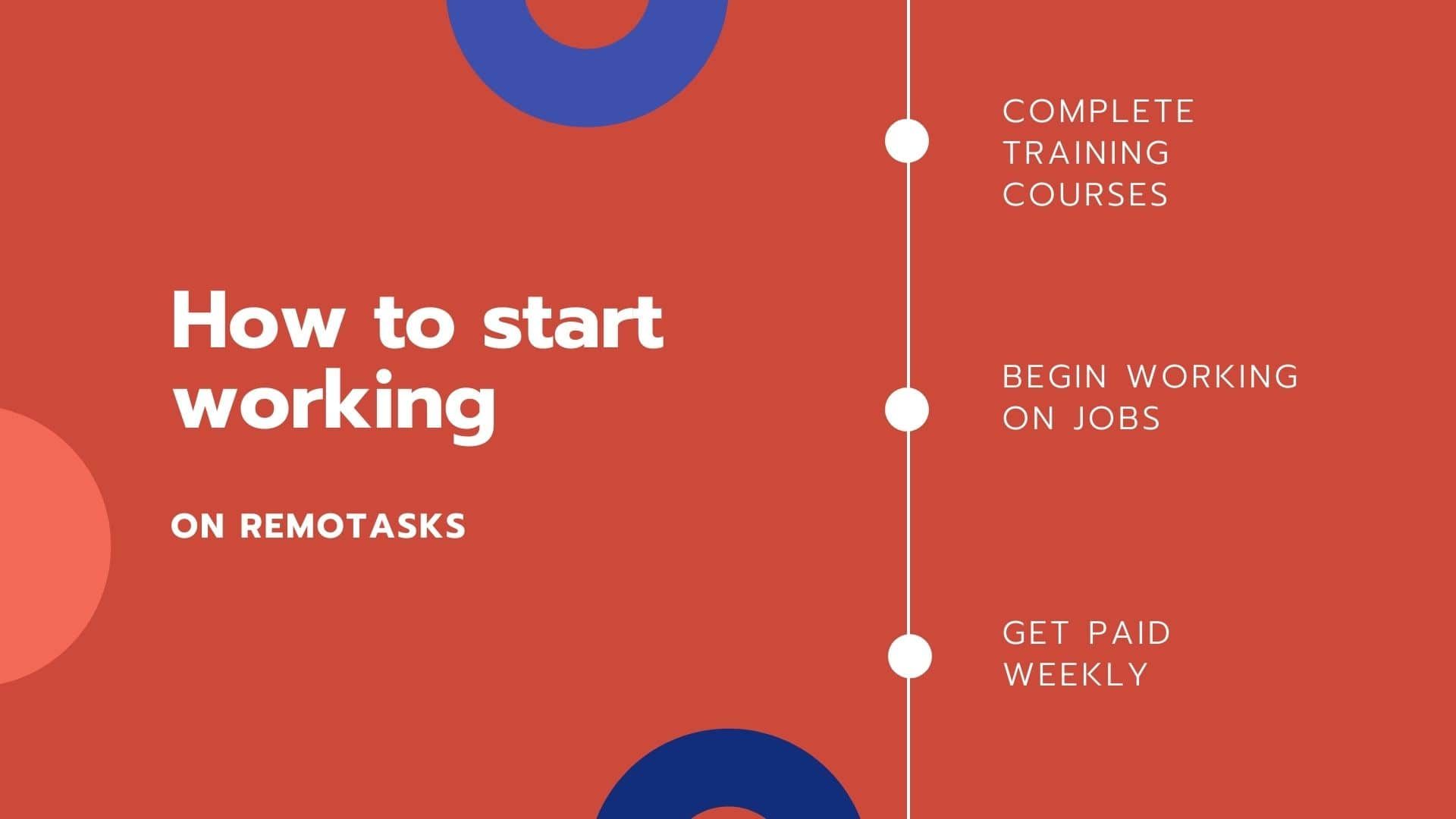 how to start working in remotasks