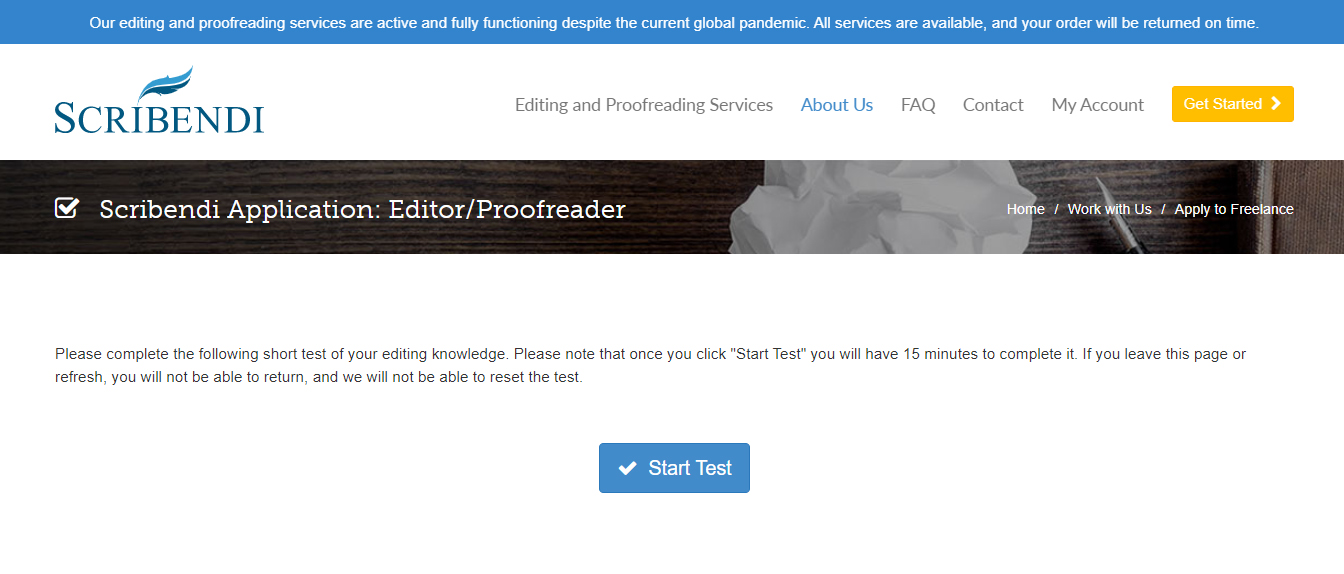 become a freelance editor