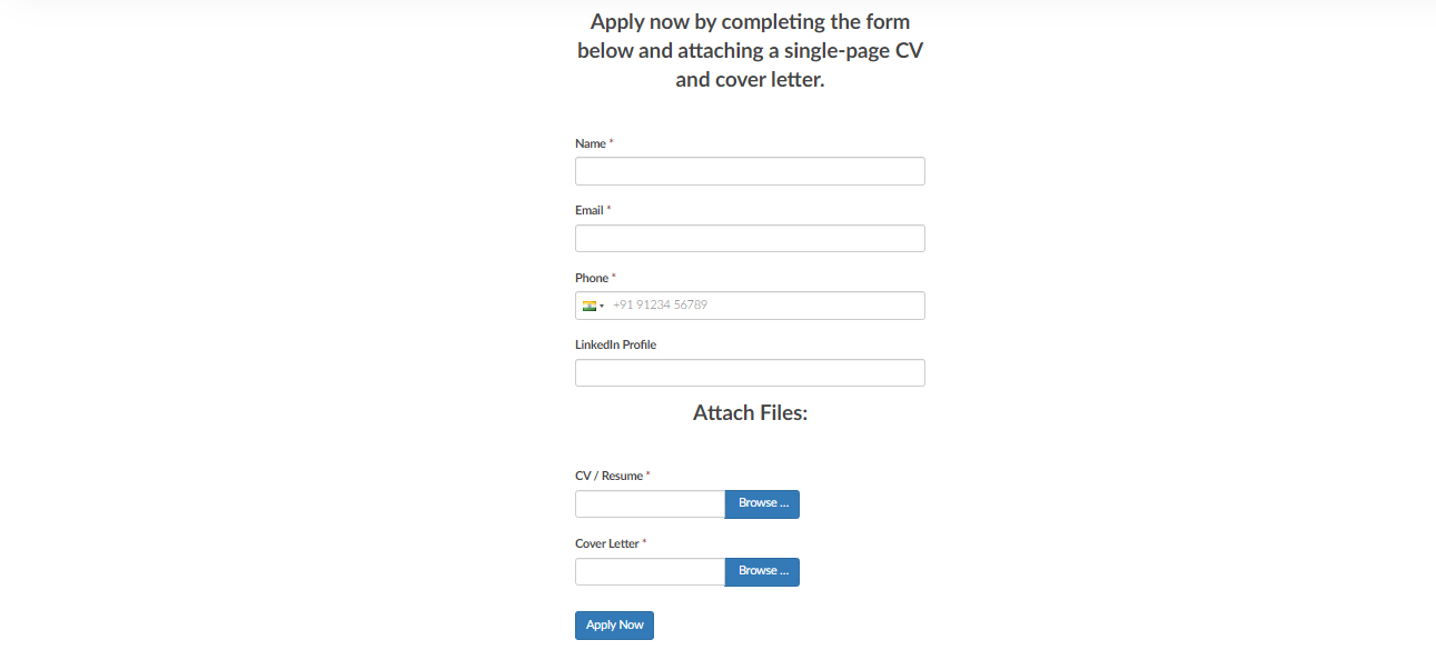 Proofed signup form