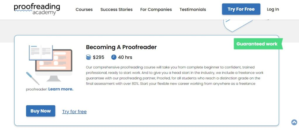 become a proofreader online