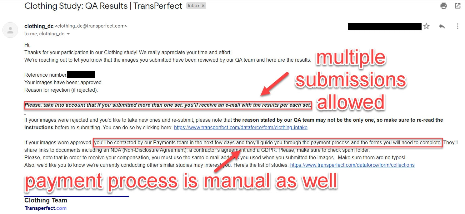 transperfect payment proof