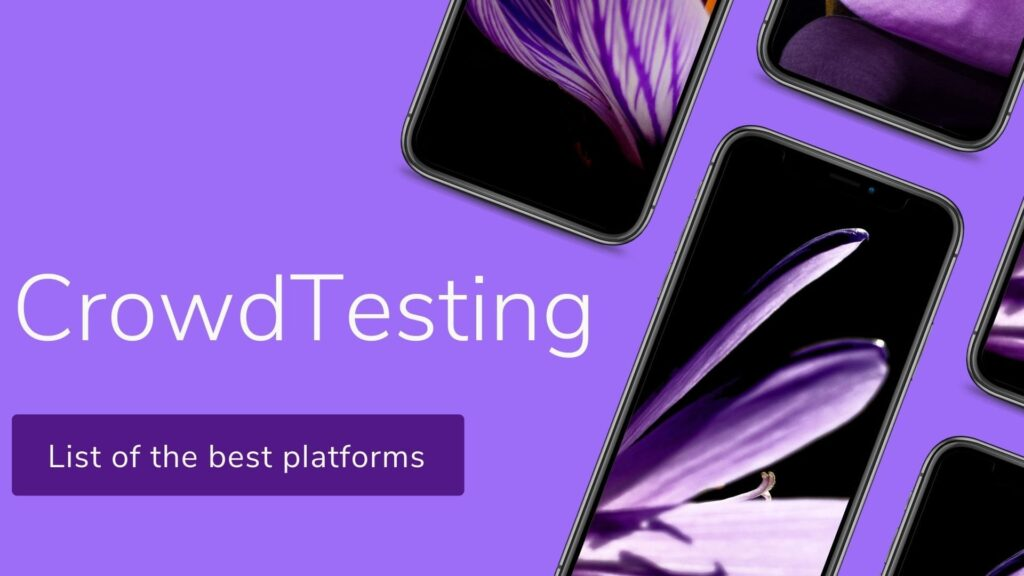 Crowdsourced testing websites