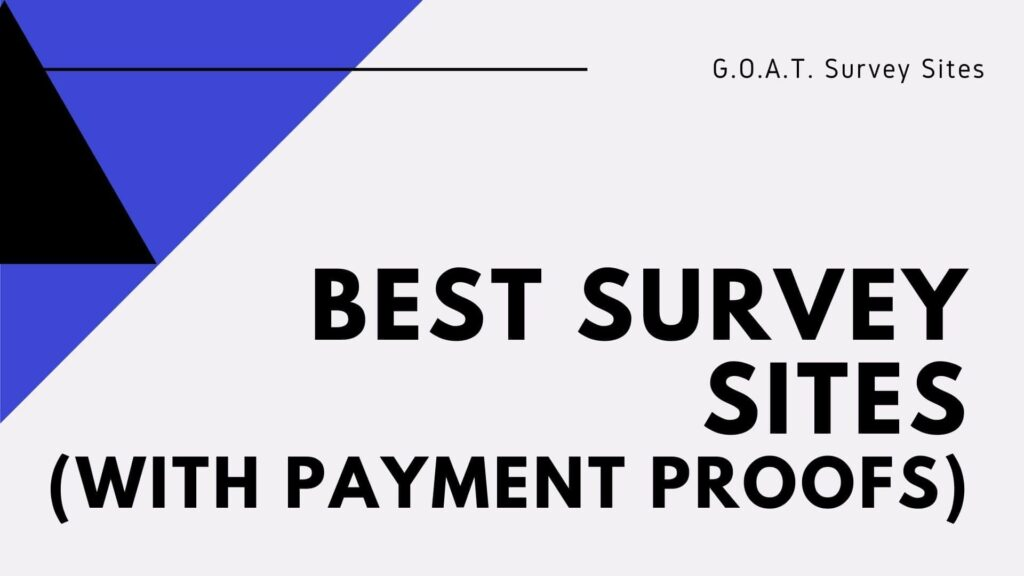 best survey sites that actually pay