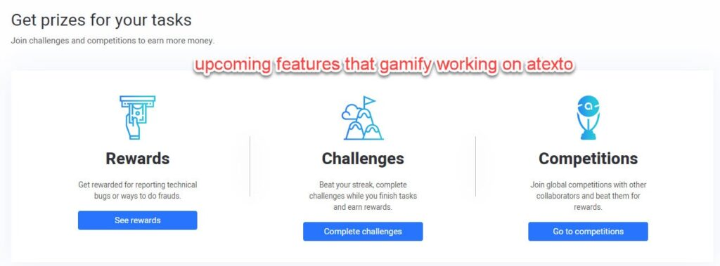 atexto rewards and challenges