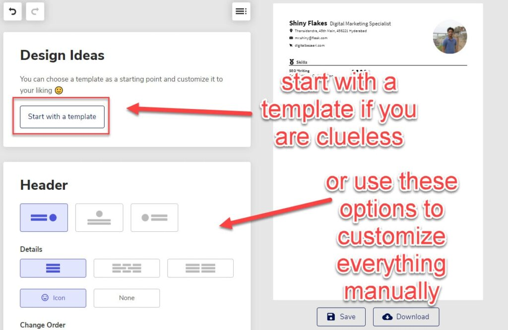 how to easily create a resume step by step tutorial