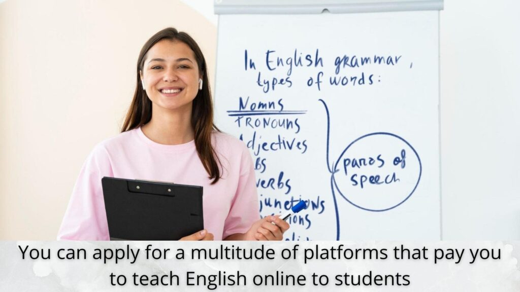 sites that pay for online english teaching jobs