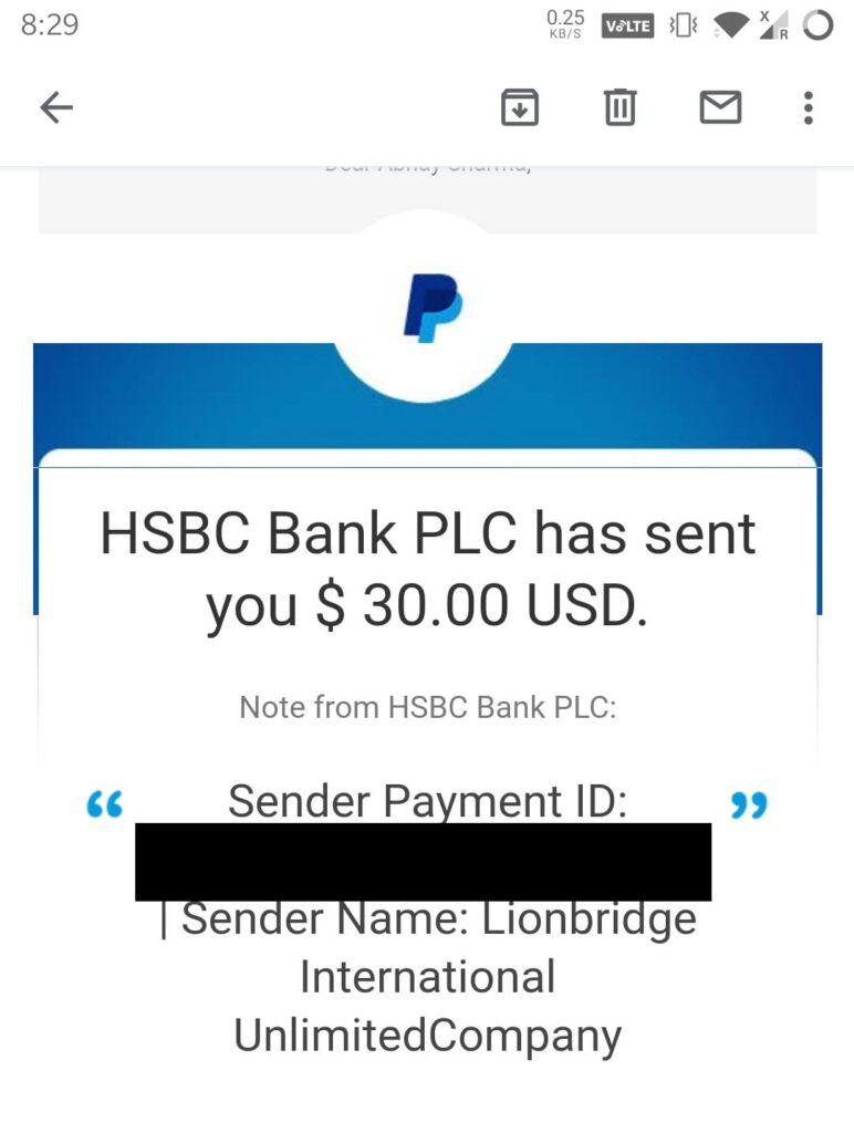 lionbridge game testing payment proof