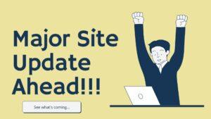 major site update