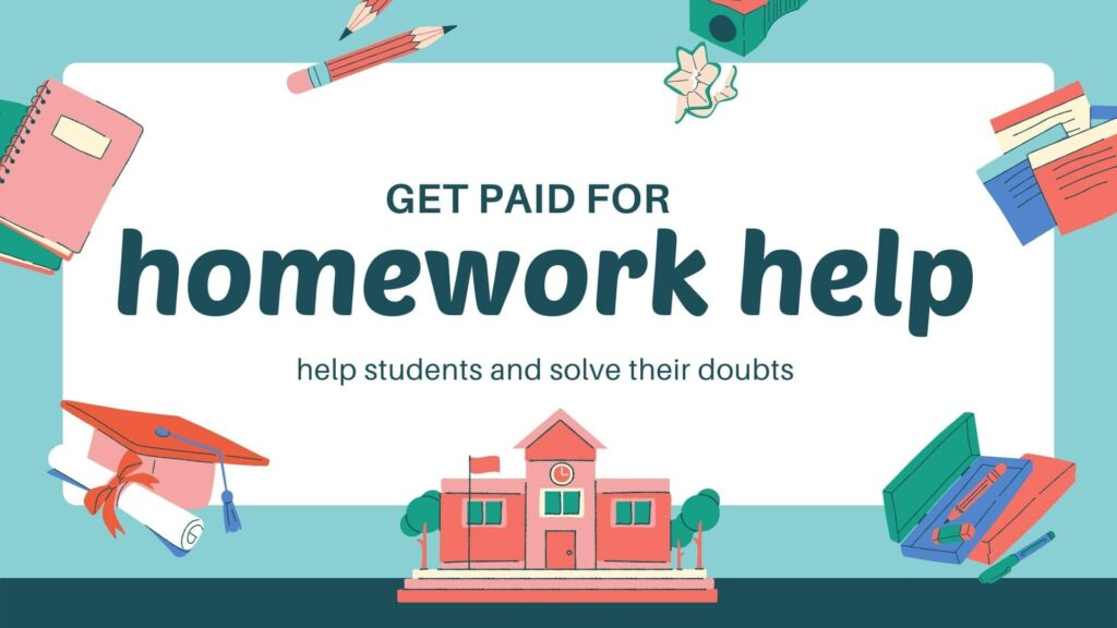 get paid to tutor students